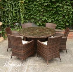 Raheen 6 seater set round