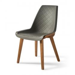 Amsterdam city dining chair grey