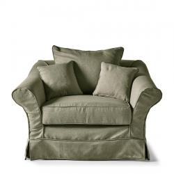 Bond street love seat frgreen