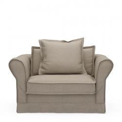 Carlton love seat anvers flax