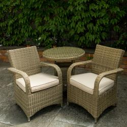 Warehouse clearance chester 2 seater rattan set
