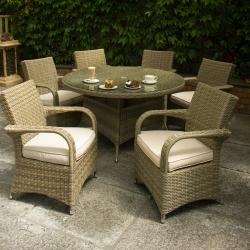 Chester round 6 seater set