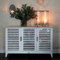 Divers cove dresser 3 doors white