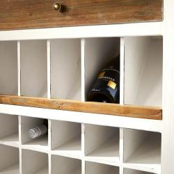 Driftwood wine cabinet