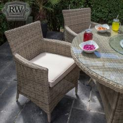 Warehouse clearance dumont 6 seater round set