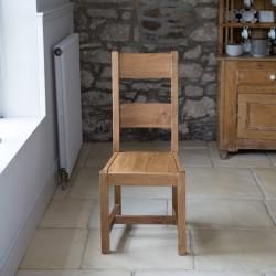 Fitzwilliam oak dining chair